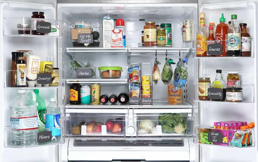 Well Organized Refrigerator