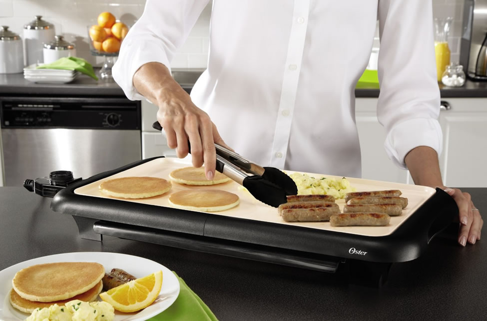 Best Large Electric Griddles - 2 in 1 Grill/Griddle Is The Best