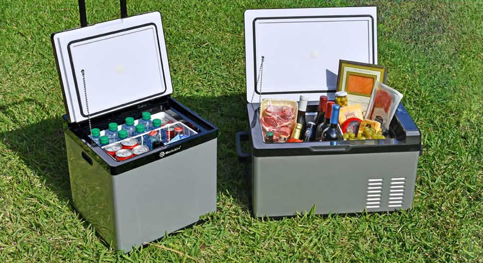 Best Portable Freezers - 2-in-1 Fridge Freezer - Enjoy Ice-cream Anywhere
