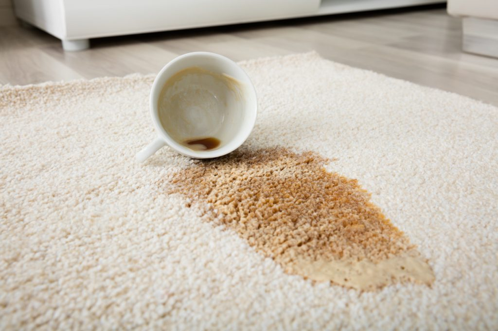 Tip 23 Clean The Coffee In The Carpet