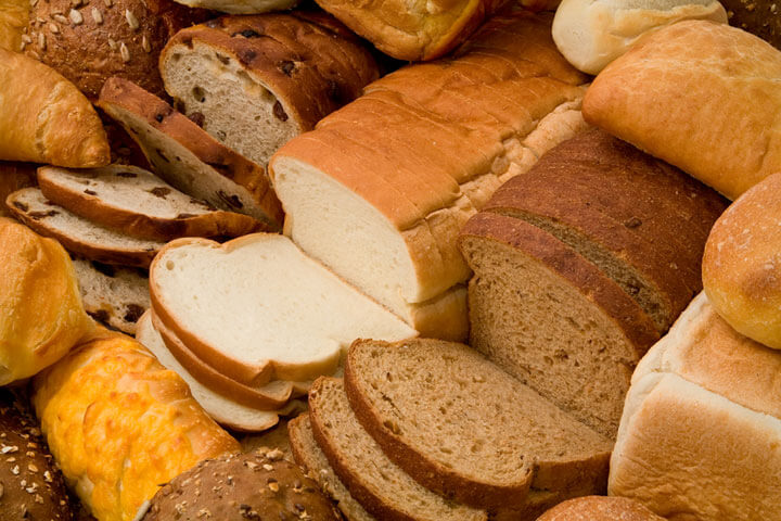 soft bread, sweet bread, french bread, whole wheat, quick bread, milky loaf