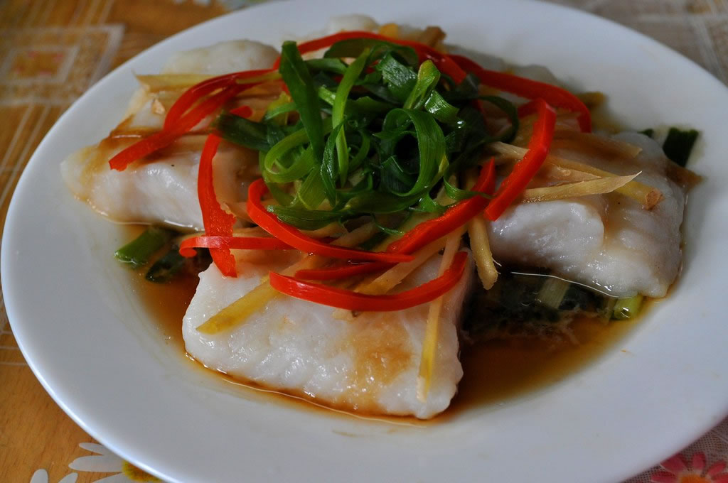 the most frequently eaten steamed fish