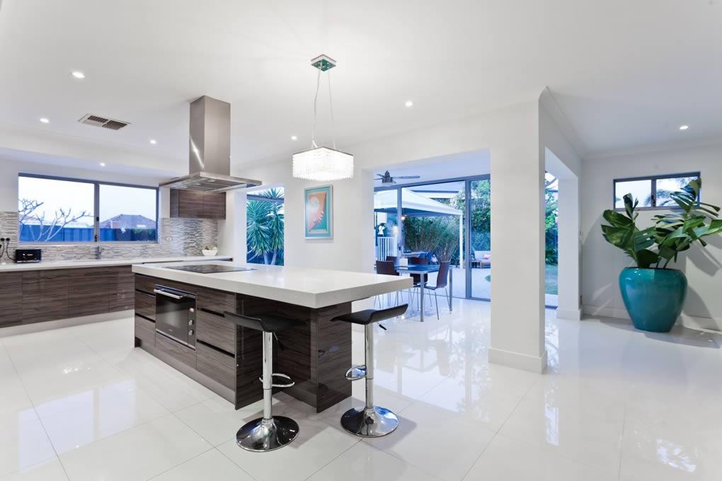 Design Of An Open Concept Kitchen